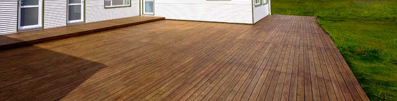 House relocation decks & alterations