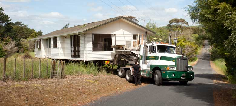 House relocation haulage